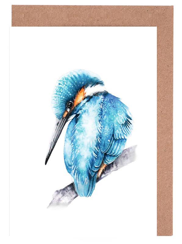 Kingfisher II -Grußkarten-Set
