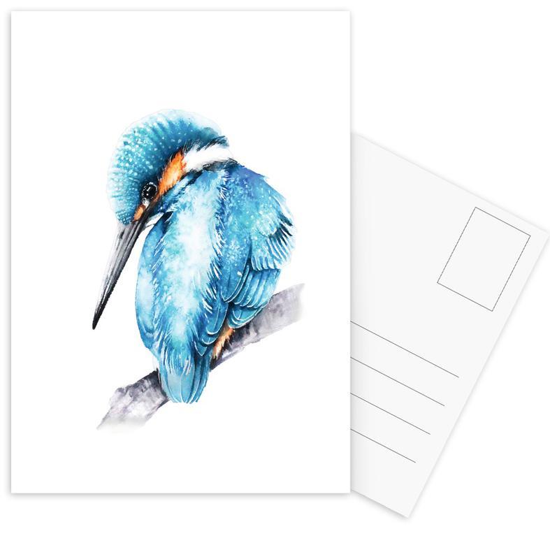 Kingfisher II -Postkartenset