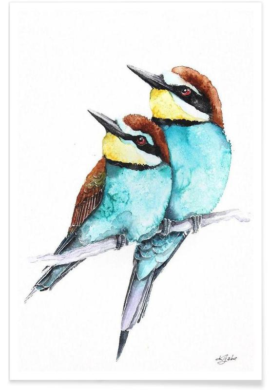 , Bee-eaters poster