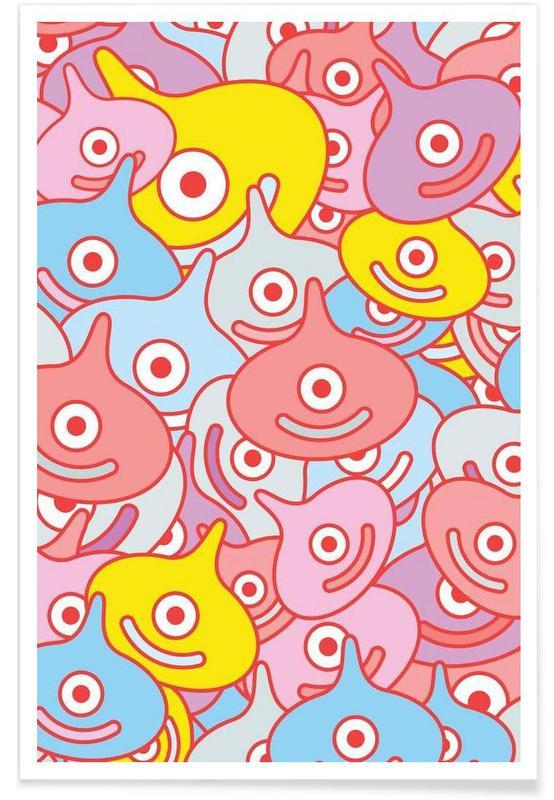 Kunst voor kinderen, Valenslimes poster