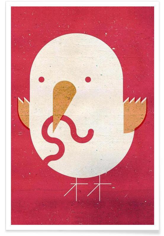 Kunst voor kinderen, Big Bird poster