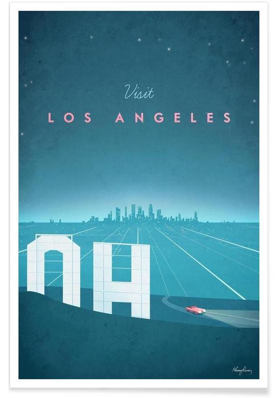 Vintage voyage, Los Angeles vintage - Voyage affiche
