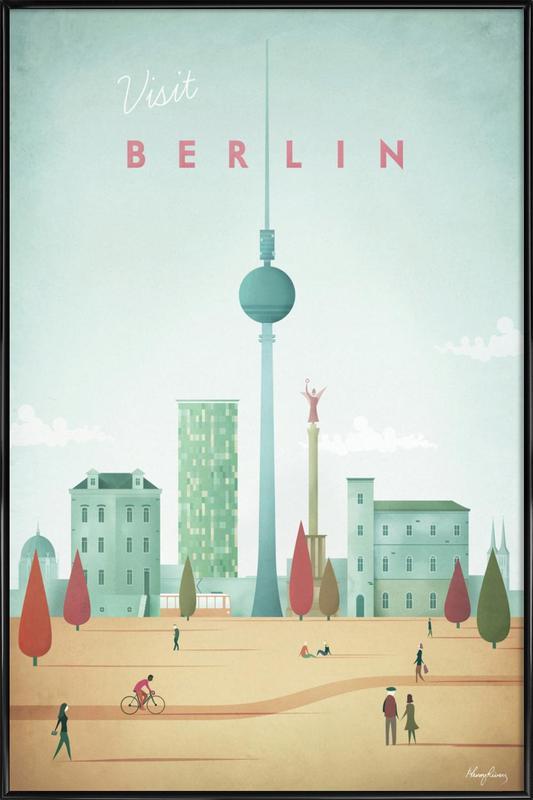 Berlin -Bild mit Kunststoffrahmen