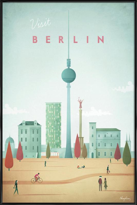 Berlin Framed Poster