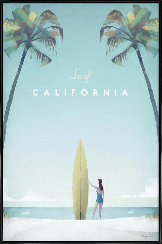 California Framed Poster