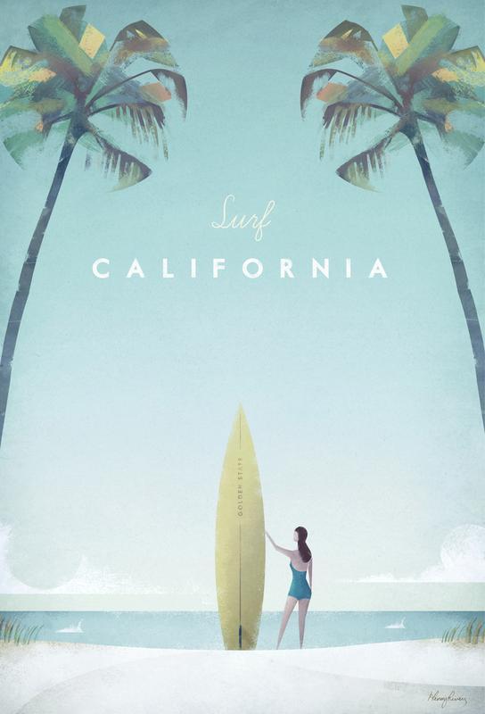 California Impression sur alu-Dibond