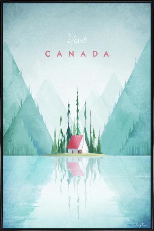 Canada Poster i standardram