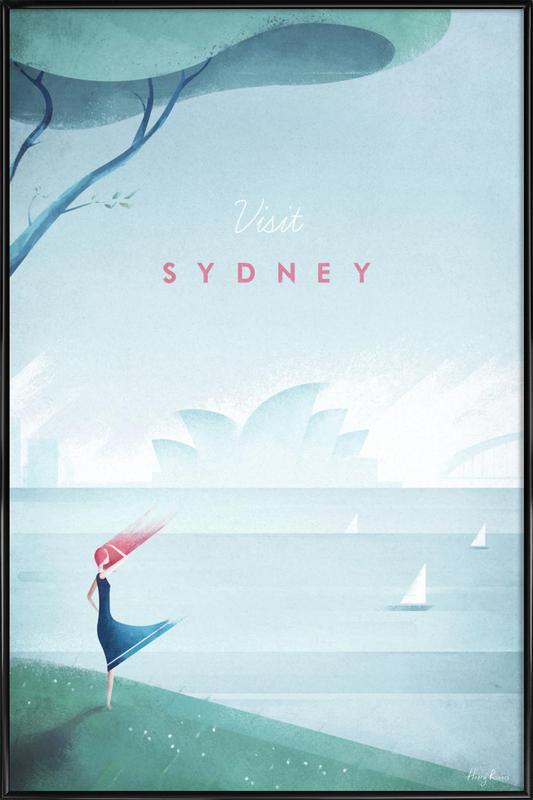 Sydney affiche encadrée