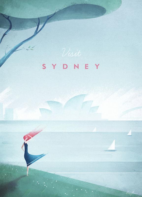 Sydney canvas doek