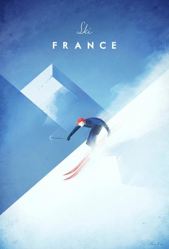 Ski France -Alubild