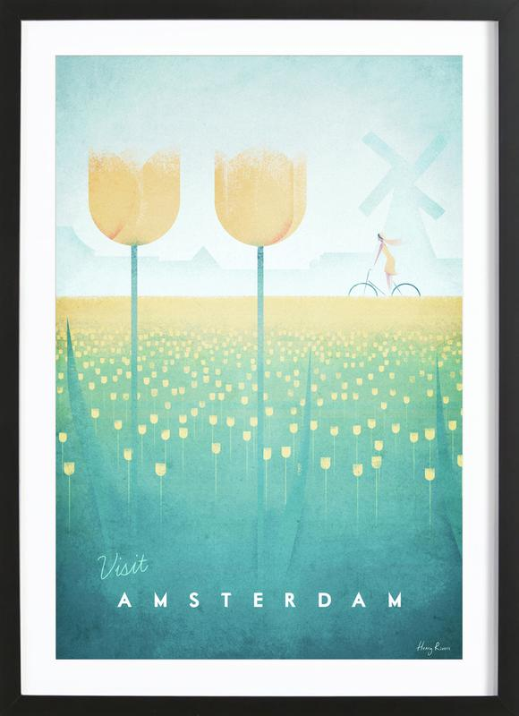 Amsterdam ingelijste print