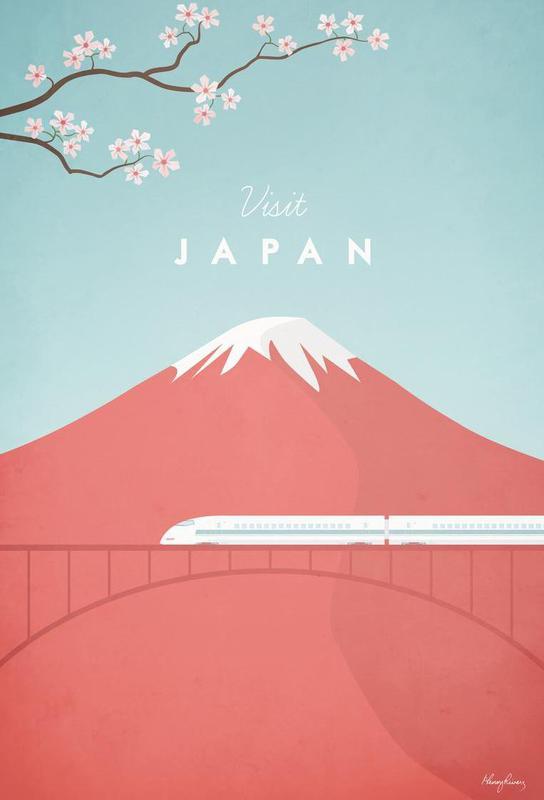 Japan -Acrylglasbild