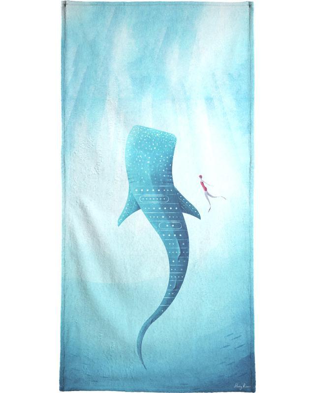 Whale Shark Bath Towel