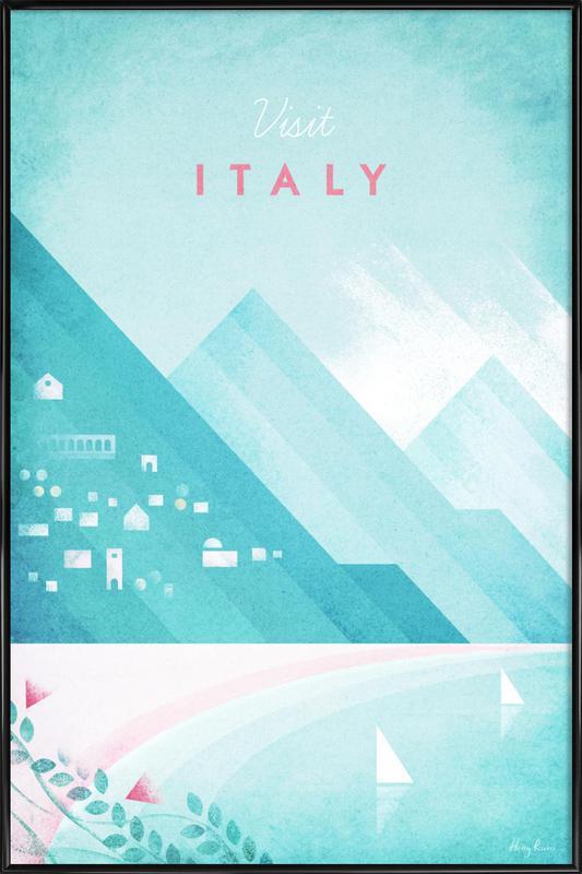 Italy affiche encadrée
