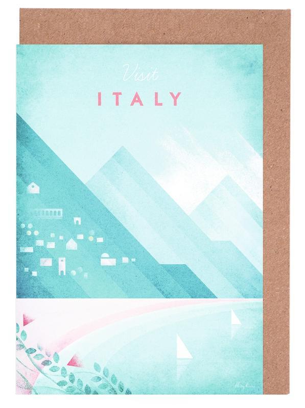 Italy -Grußkarten-Set