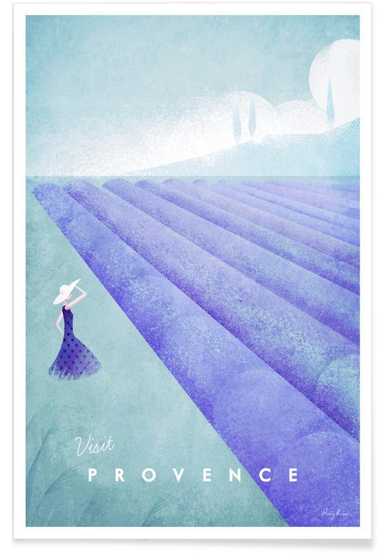 Reizen, Vintage reis, Vintage Provence - reizen poster