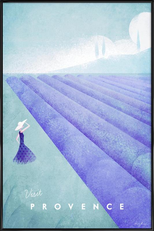 Provence affiche encadrée