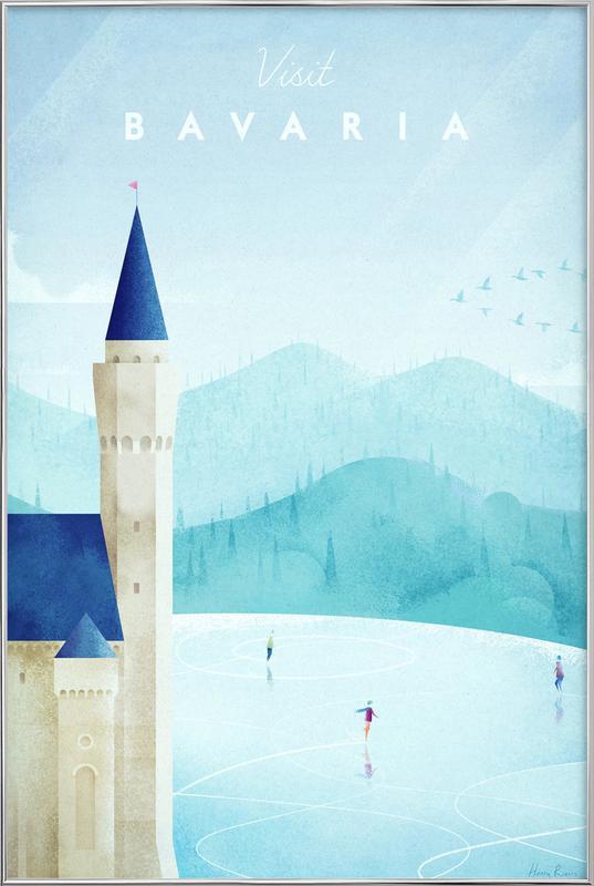 Bavaria Poster in Aluminium Frame