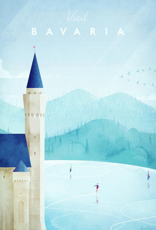 Bavaria Impression sur alu-Dibond