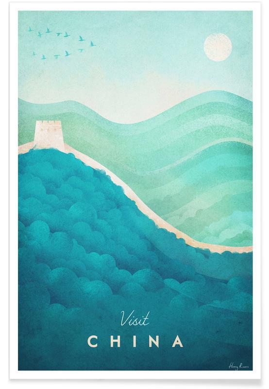 Travel, Vintage Travel, China Poster