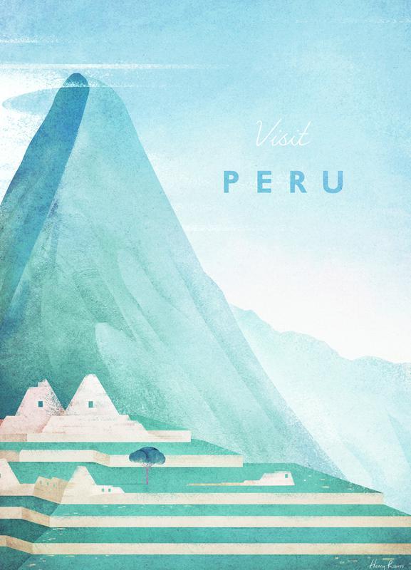 Peru canvas doek