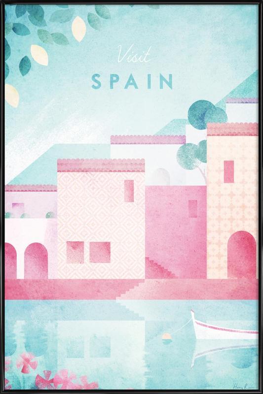 Spain Framed Poster