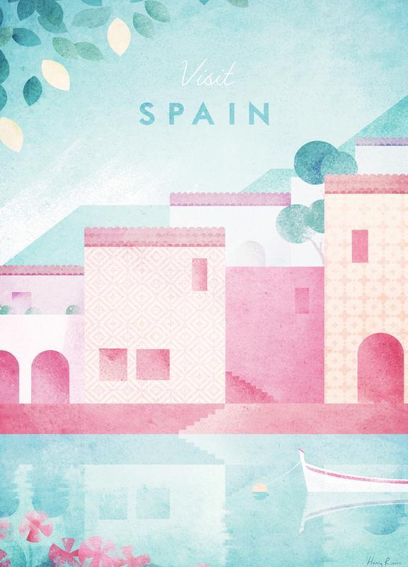Spain -Leinwandbild