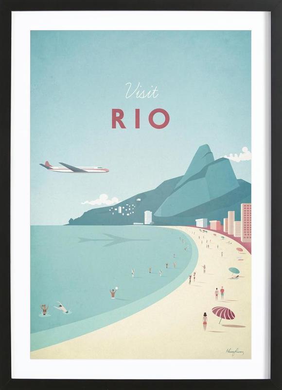 Rio ingelijste print
