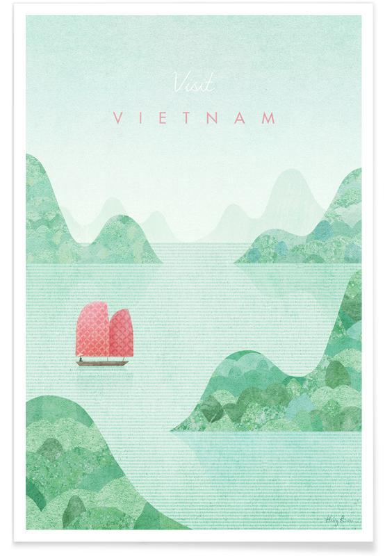 Reise, Vintage Reise, Vietnam -Poster