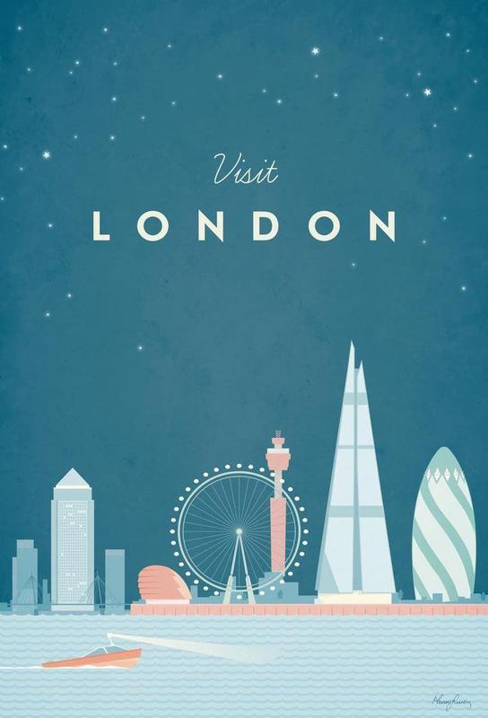 London Impression sur alu-Dibond