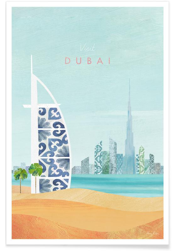 Abstract Landscapes, Travel, Dubai Poster