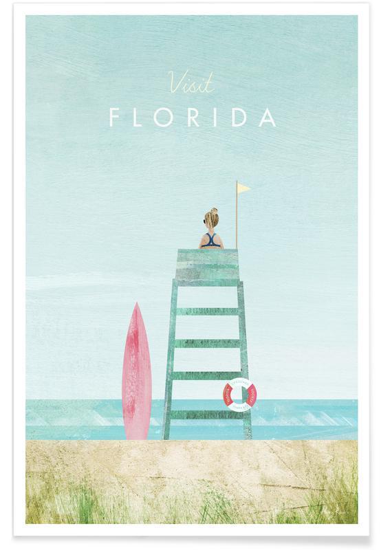 Paysages abstraits, Voyages, Florida affiche