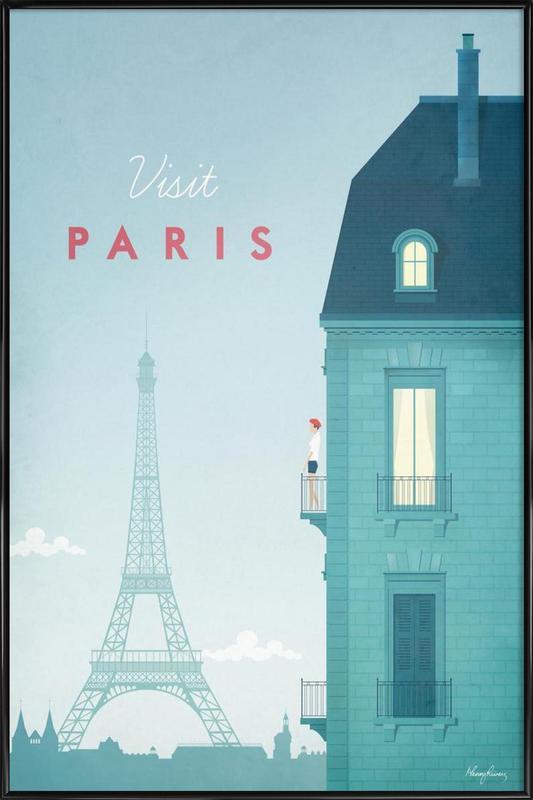 Paris Poster i standardram