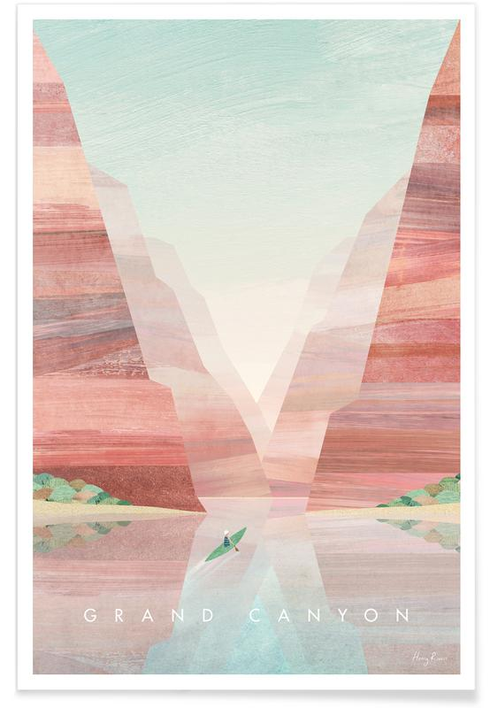 Abstract Landscapes, Travel, Grand Canyon Poster