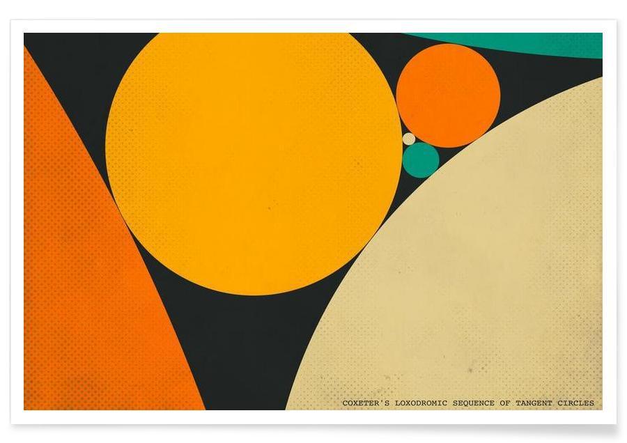 Rétro, Coexeter's loxodromic affiche