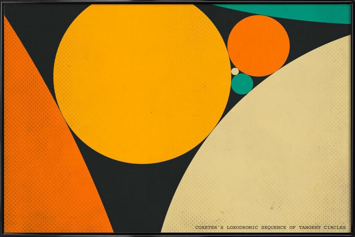 Coexeter's loxodromic Framed Poster