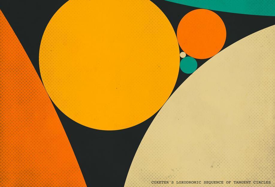 Coexeter's loxodromic Acrylic Print