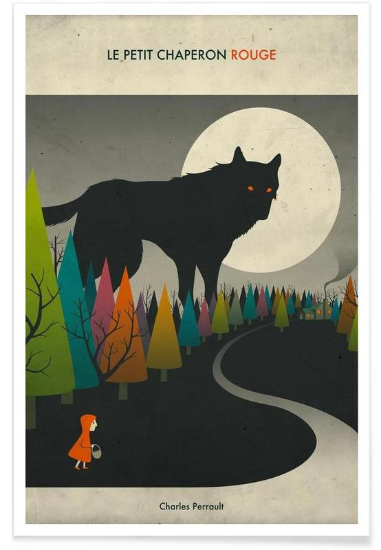 Red Riding Hood Book Poster