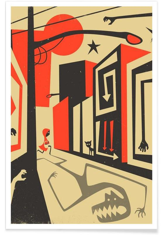 Rétro, Red Riding Hood affiche