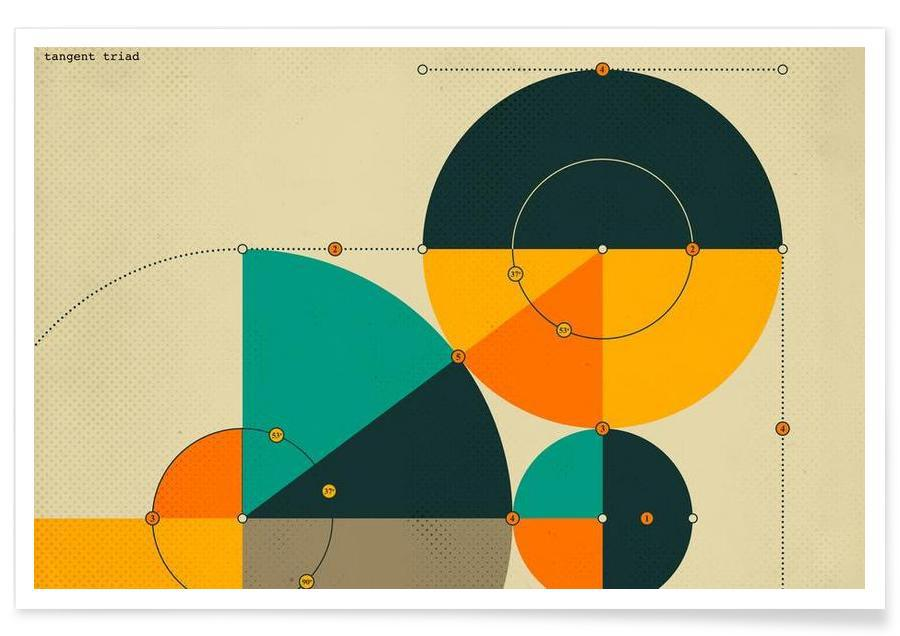 , Tangent Triad -Poster