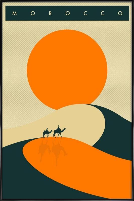 Morocco Framed Poster