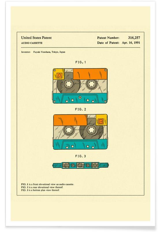 Cassette -Poster
