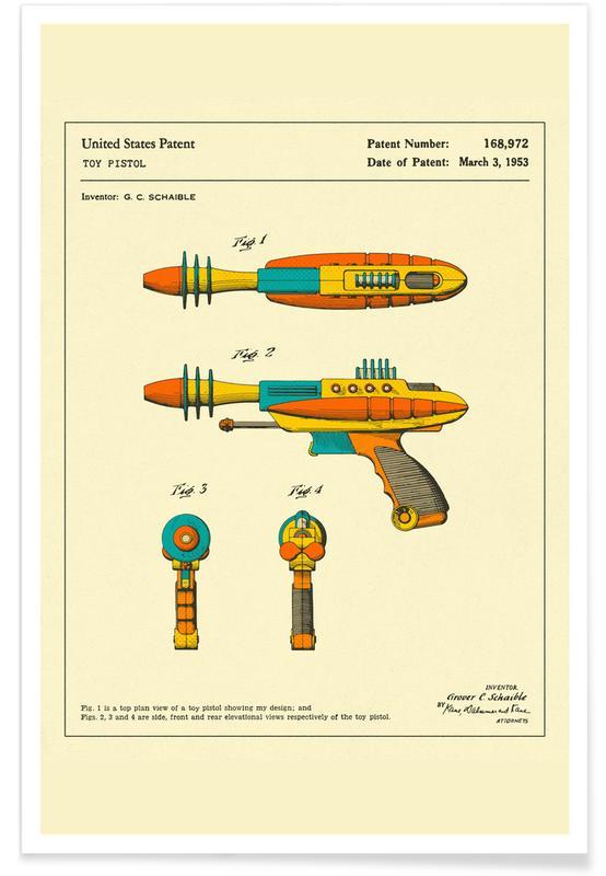 Disintegrator Pistol -Poster