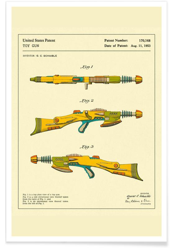 Disintegrator Rifle -Poster