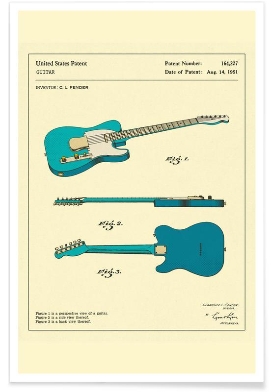 Gitaar, Guitar 3 poster
