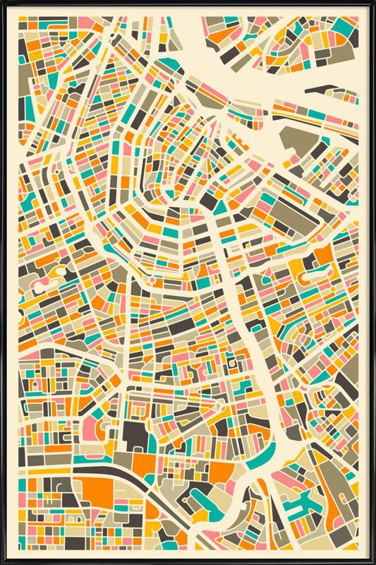 Amsterdam Framed Poster