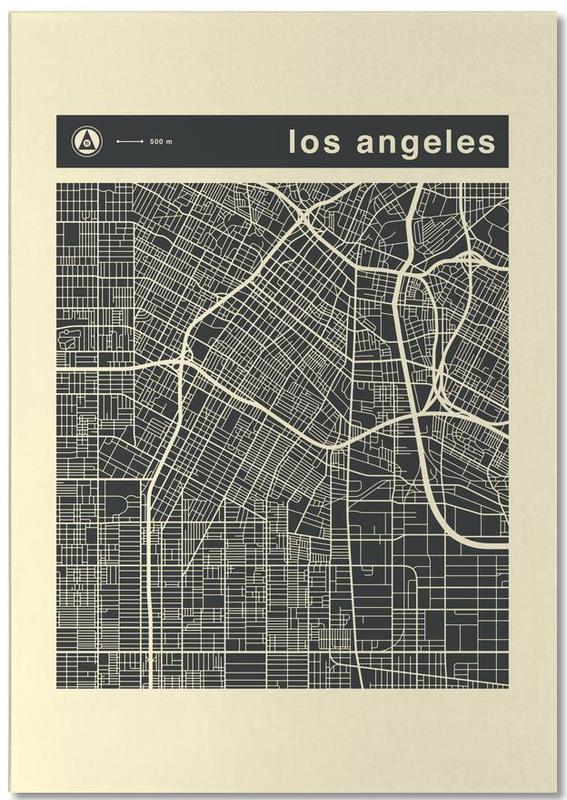 Cartes de villes, Los Angeles, City City Maps Series 3s Series 3 -  Los Angeles bloc-notes