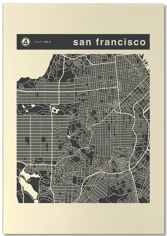 City Maps Series 3 Series 3 - San Francicso Notepad