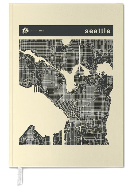 City Maps Series 3 Series 3 - Seattle -Terminplaner