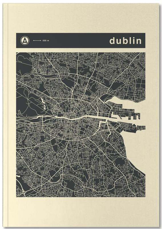Cartes de villes, Dublin, City Maps Series 3 Series 3 - Dublin Notebook